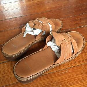 Buttery Leather Greece Italian Slip On Sandals